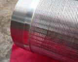 Arrollamiento de hilo de acero inoxidable tubo de pantalla