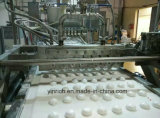 초콜렛 Coating JZM120+TYJ800를 가진 사탕 Machine Complete Deposited Marshmallow