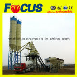 Hzs75 Fixed Concrete Batching plans with Js1500 Concrete mixer
