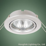 Accesorio ligero ahuecado LED ajustable Downlight de techo de GU10 MR16
