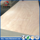 madera contrachapada comercial 4X8 con base del álamo