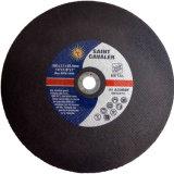 Roda abrasiva da estaca da grão do óxido de alumínio para o metal/aço 355X3.2X25.4
