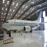 La plaque de châssis de la structure en acier Pre-Engineered aircraft hangar hangar pour la vente