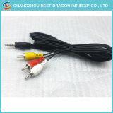 Wijfje aan Mannelijke USB aan 3RCA de Kabel Vrouwelijke USB van AV aan Kabel RCA voor de AutoMotorfiets van de Auto