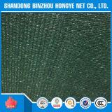 Engranzamento plástico da rede da máscara de Sun do verde da agricultura do HDPE de pano da rede da rede da máscara de Sun do HDPE