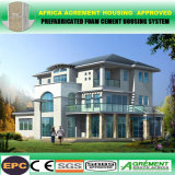 Здание светлой стальной полуфабрикат Prefab модульной дома стальной структуры домашнее