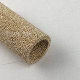 Réducteur de bruit de métal poreux de la poudre de bronze fritté Élément de filtre