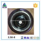 中国のトロリーカートは3.00-8個の空気のゴム製タイヤを動かす