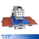 Doppelte Stationen, die Vorlagenglas-Wärme-Presse-Drucken-Maschine (STM-P06, Arbeits sind)