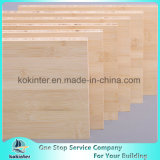 madeira compensada natural do bambu da cor da placa de bambu horizontal do painel do bambu de 20mm
