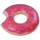 100cm Durchmesser-Kaffee-Farben-aufblasbarer Krapfenswim-Ring