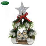 Meilleure vente Décoration ensemble de la nativité figurines en céramique