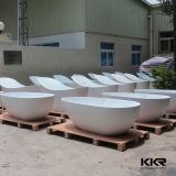 Kkr Corianの固体表面の支えがない浴槽、浴室の浴槽