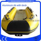 Barca gonfiabile rigida di alluminio di Hypalon con il certificato del Ce da vendere