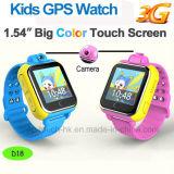 3G badine la montre de traqueur de GPS avec l'appareil-photo 3.0 et le bouton D18 de SOS