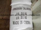 Wit Chloride 99.6% van het Ammonium van de Rang van het Voer van het Poeder