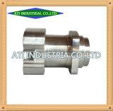 A alta precisão feitos de metal latão Máquinas Central Tornos CNC Peças