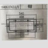 La Filature de pièces de rechange de machines textiles d'équipement 16406.0743.0/0 en plastique de la fenêtre