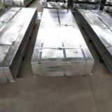 Material de construção de fornecedor de aço a folha de aço corrugado Telhas