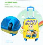 """18 """" bagagli di corsa del sacchetto dei bagagli dei bagagli ABS+PC del carrello dei bagagli del reticolo del capretto"""