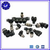 Conjuntos rápidos mini conector de ar nas conexões pneumáticas