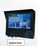 PTZ 사진기 Eembeded 리눅스 LCD 디스플레이 호스트 경찰 3G 4G 동적인 기록 시스템