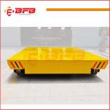 Carro de manipulação elétrico do uso da indústria para a fresa de aço nos trilhos
