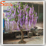 Albero all'ingrosso del fiore artificiale della decorazione di cerimonia nuziale di Guangzhou