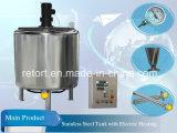 1000L de Chemische Reactor van de Reactor van het roestvrij staal (elektrische het verwarmen reactor)