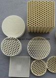 蜜蜂の巣の陶磁器の再生器の鋼鉄ヒーターのための陶磁器の蜜蜂の巣の熱交換器