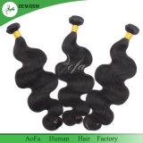 Trama brasiliana di buona qualità di prezzi di fabbrica dei capelli umani dell'onda del corpo