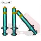 Êmbolo hidráulico telescópico de Ação Única do cilindro para veículo agrícola
