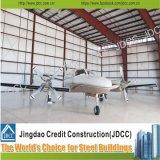 Hangar léger d'avions de structure métallique