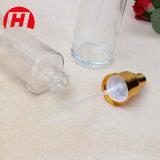 Cosmético que empacota o frasco da loção do vidro de geada claramente de 15ml 30ml 50ml