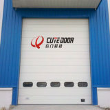 Промышленного подъема верхней плоскости двери на складе