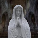 Statua di marmo dell'alta qualità della Mary di Virgin, scultura religiosa della statua
