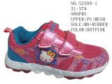 Schoenen van de Sport van de Schoenen van het Jonge geitje van de Kat van de Pot van de Sport van de prinses de Roze