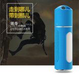 Batería 6000mAh de la potencia del altavoz de Bluetooth de la linterna del LED