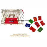 유럽식 슈퍼마켓 쇼핑 트롤리