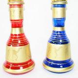 Woyu Ling è un tubo di acqua con una lampada dell'acqua ed in lega di zinco di fumo del tubo LED con una mini sigaretta elettronica Shisha di Cigarett del narghilé di vetro