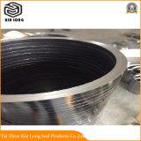 Anneau de garniture de graphite flexible ; la tige de soupape de pompe haute température joint graphite flexible Anneau de garniture