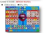 Bingo-Manie-spielendes Kasino-videoSäulengang-Schlitz-Spiel-Maschine
