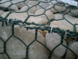 鋼線の網のGabionの熱い浸された電流を通されたバスケット