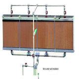 Канал охлаждения блока для домашней птицы и выбросов парниковых газов