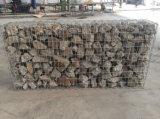 Rete metallica, casella di Gabion, galvanizzata o PVC esagonale Cotaed
