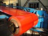 La bobine en acier galvanisée enduite d'une première couche de peinture/couleur a enduit la bobine de l'acier Coil/PPGI