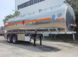 半45000Lアルミ合金のタンカーのトレーラー40tのガソリン・タンクのトレーラー