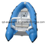 Aqualand 16feet 4.7mのガラス繊維の堅く膨脹可能な採取の/Ribのレスキューモーターボート(RIB470B)