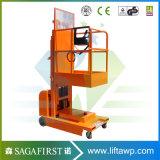 4,5M elevador hidráulico de elevación de la soldadura vertical Orderpickers plataforma Plataforma de trabajo