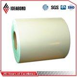 Цвет Ideabond белый Pre-Painted алюминиевая катушка (POLYESTER/PVDF)